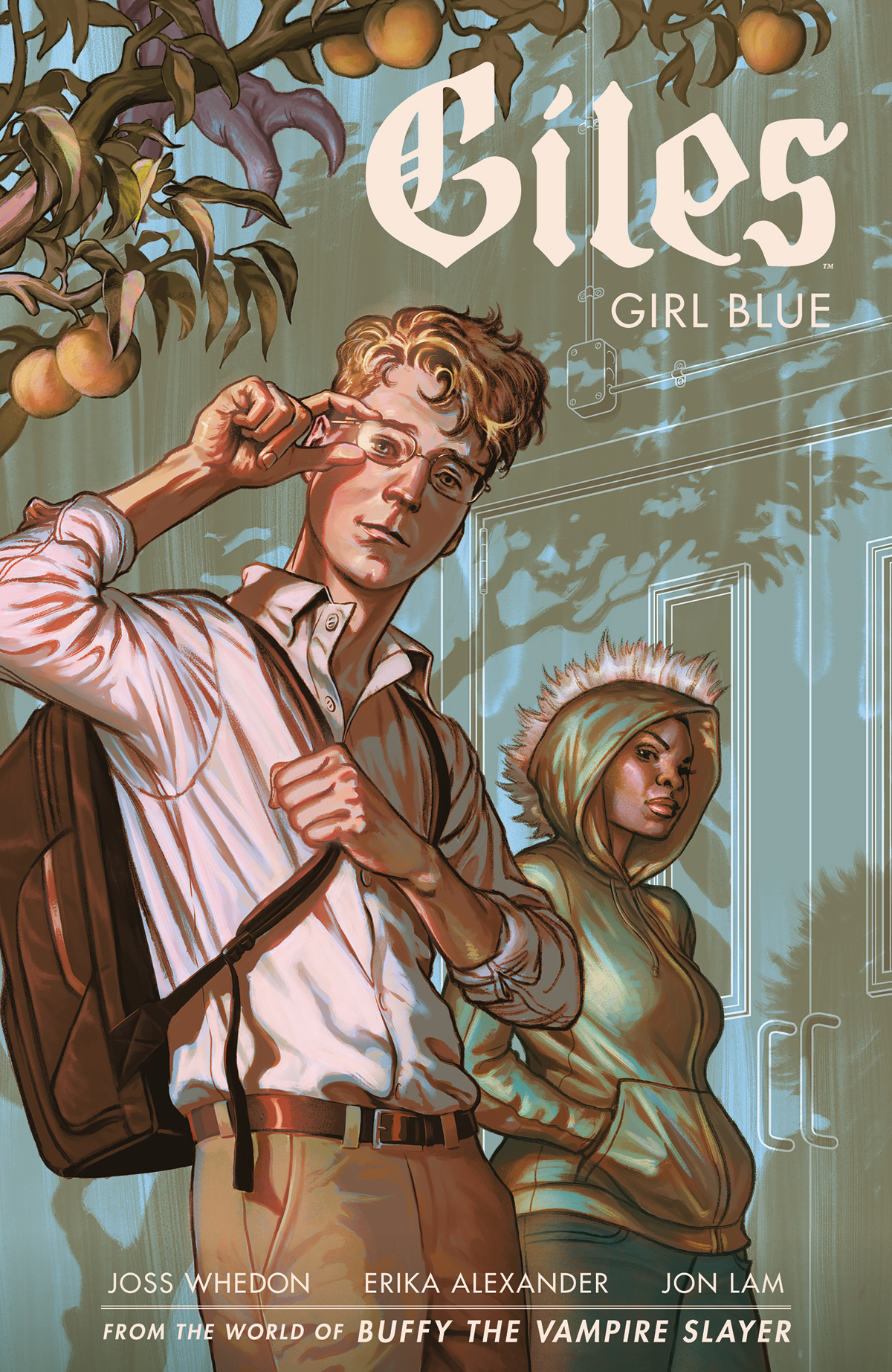 BTVS SEASON 11 GILES GIRL BLUE TP VOL 01