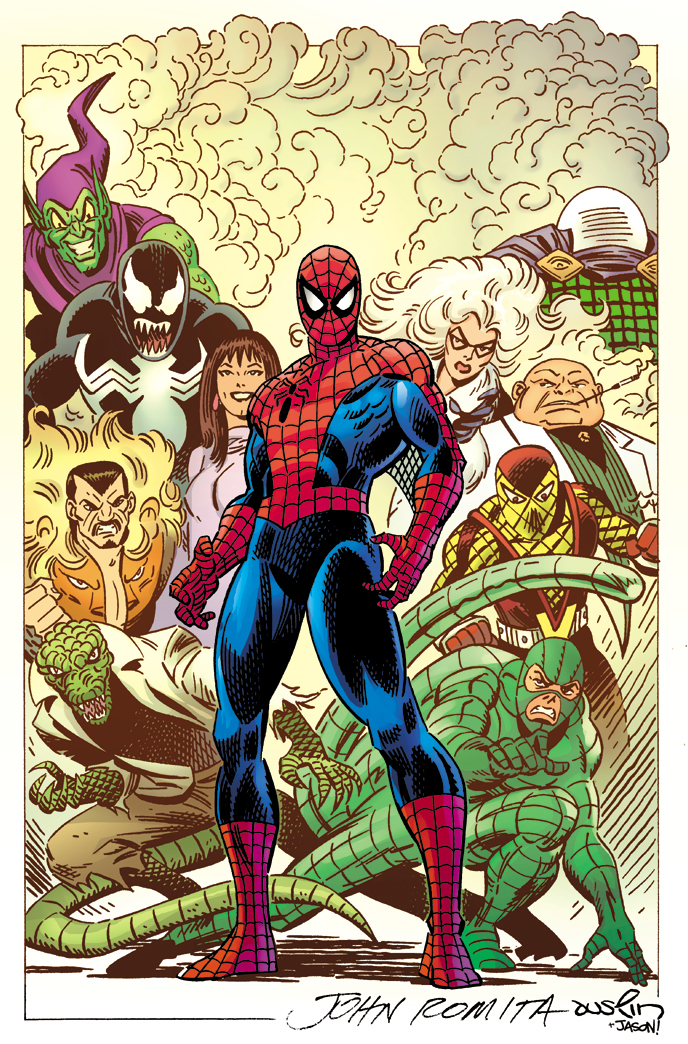 AMAZING SPIDER-MAN #1 JR SR VAR