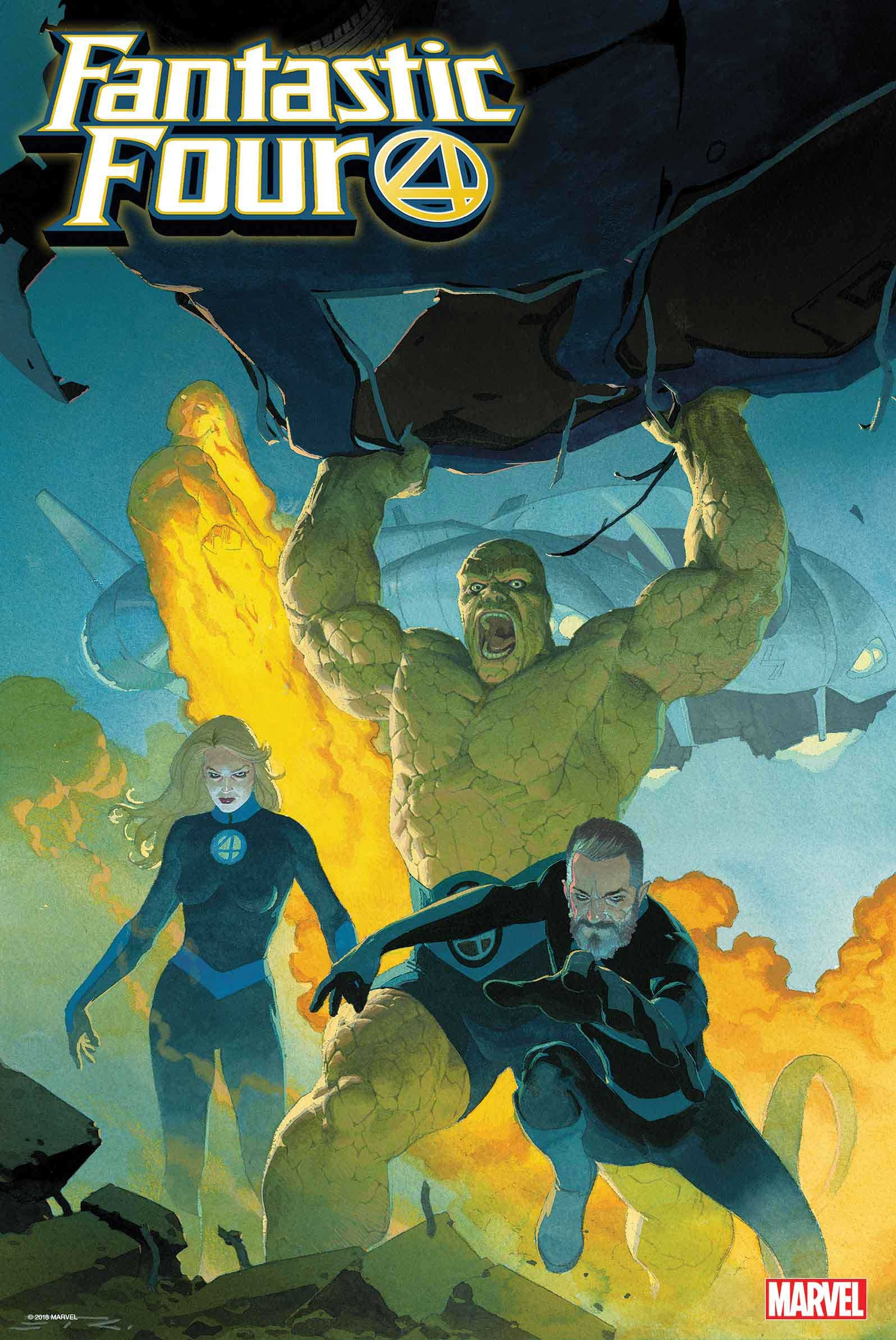 FANTASTIC FOUR 2018 BY RIBIC POSTER
