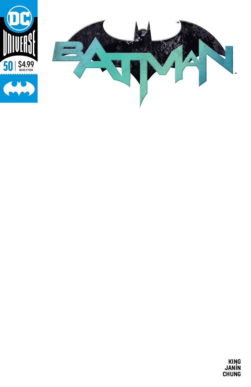 BATMAN #50 BLANK VAR ED