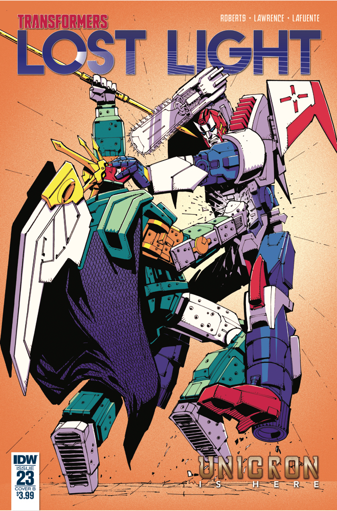 TRANSFORMERS LOST LIGHT #23 CVR B SENIOR