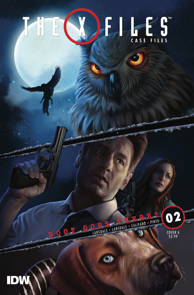 X-FILES CASE FILES HOOT GOES THERE #2 (OF 2) CVR A NODET