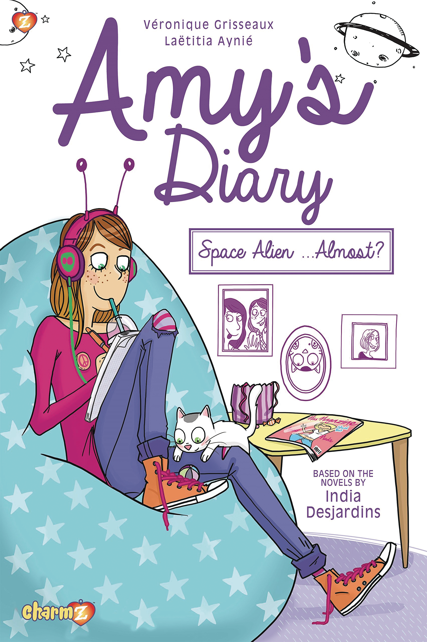 AMYS DIARY GN VOL 01 SPACE ALIEN ALMOST (O/A)