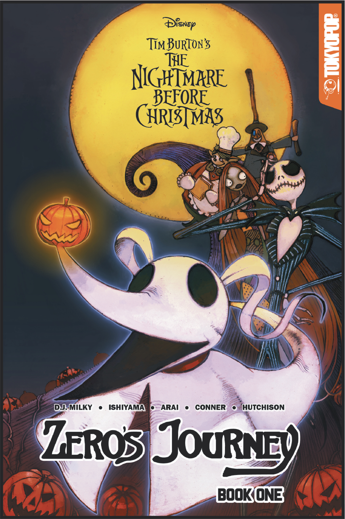 DISNEY MANGA NIGHTMARE CHRISTMAS ZEROS JOURNEY TP VOL 01