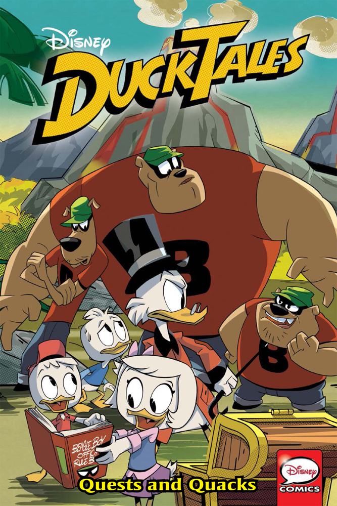 DUCKTALES TP VOL 03 QUESTS AND QUACKS