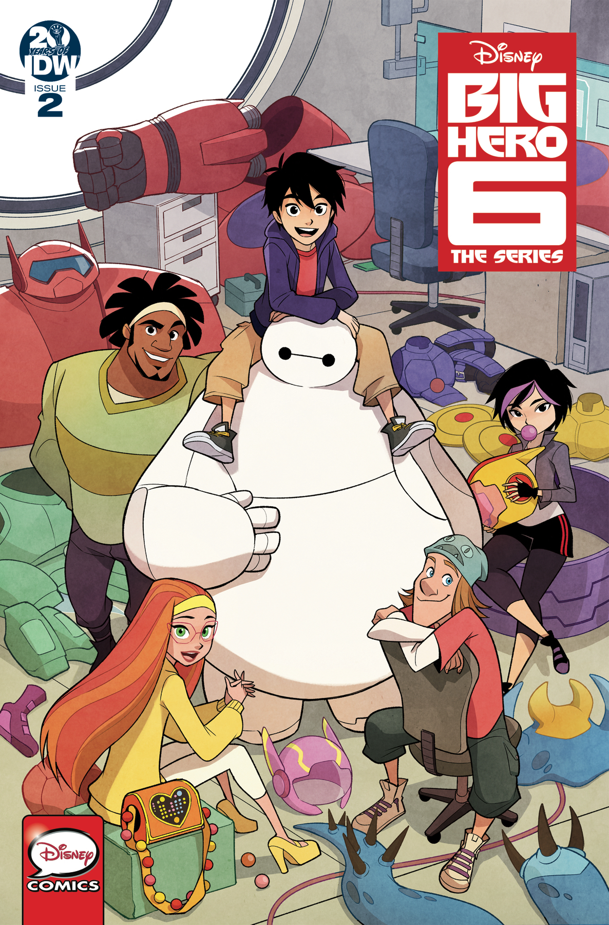 BIG HERO 6 THE SERIES #2 CVR A GURIHIRU (RES)