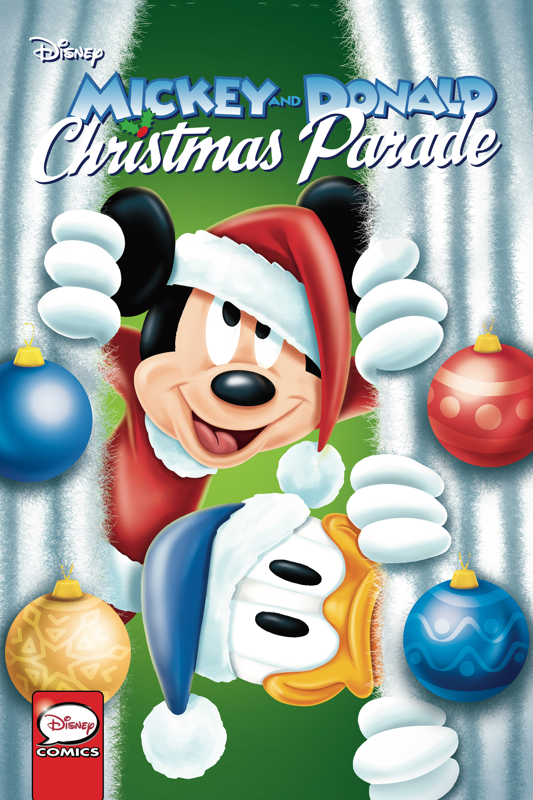 MICKEY AND DONALD CHRISTMAS PARADE