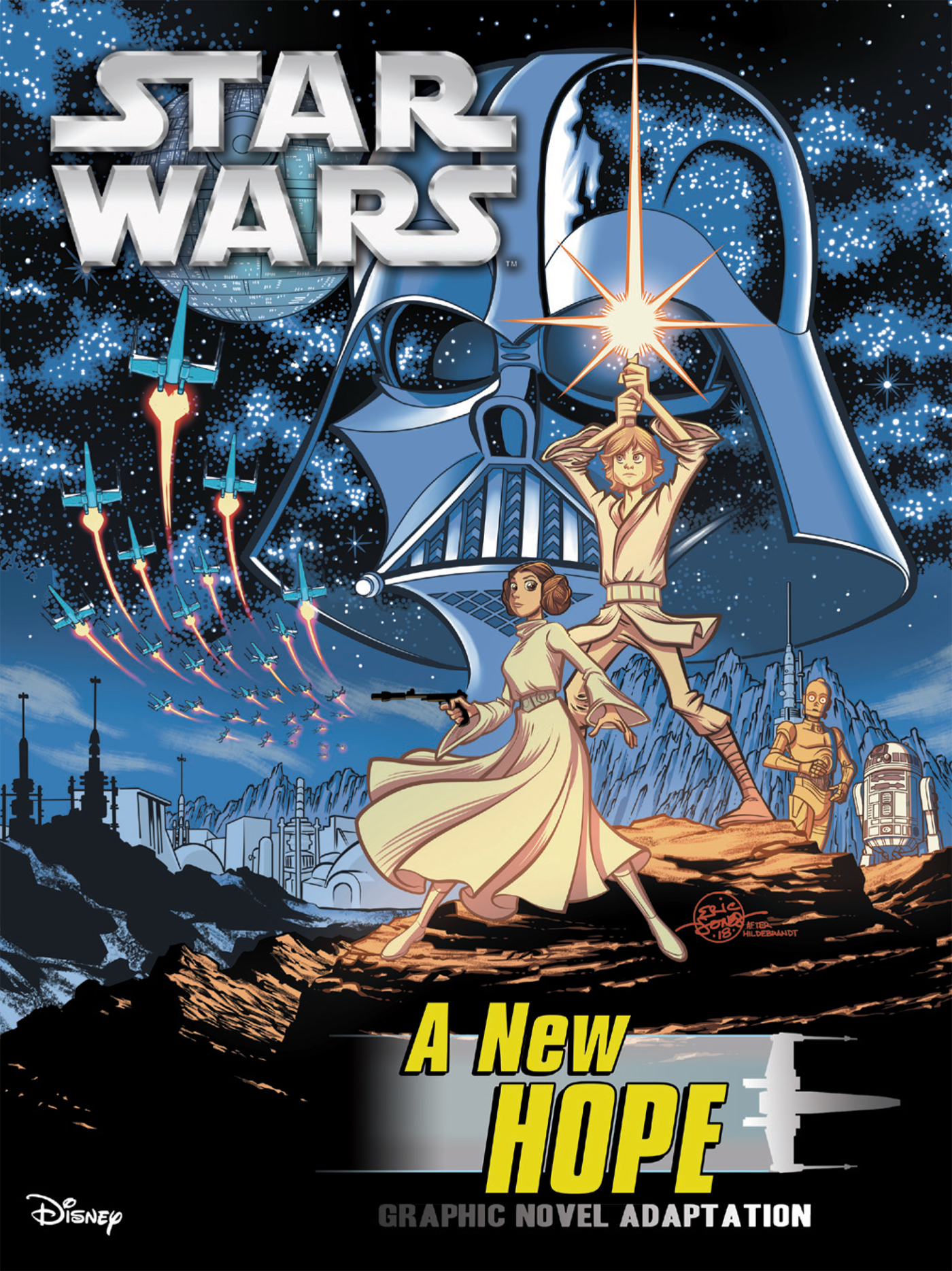 STAR WARS NEW HOPE GN