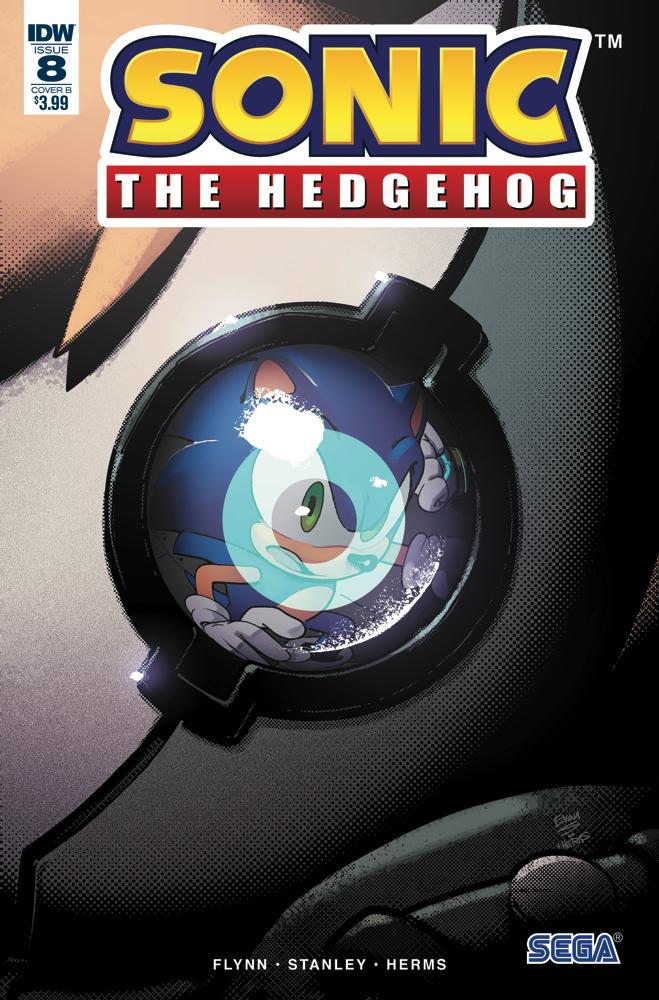 SONIC THE HEDGEHOG #8 CVR B DUTREIX