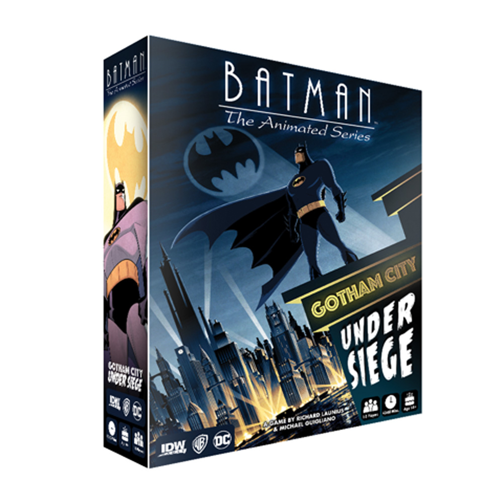 BATMAN ANIMATED SERIES GOTHAM UNDER SIEGE GAME