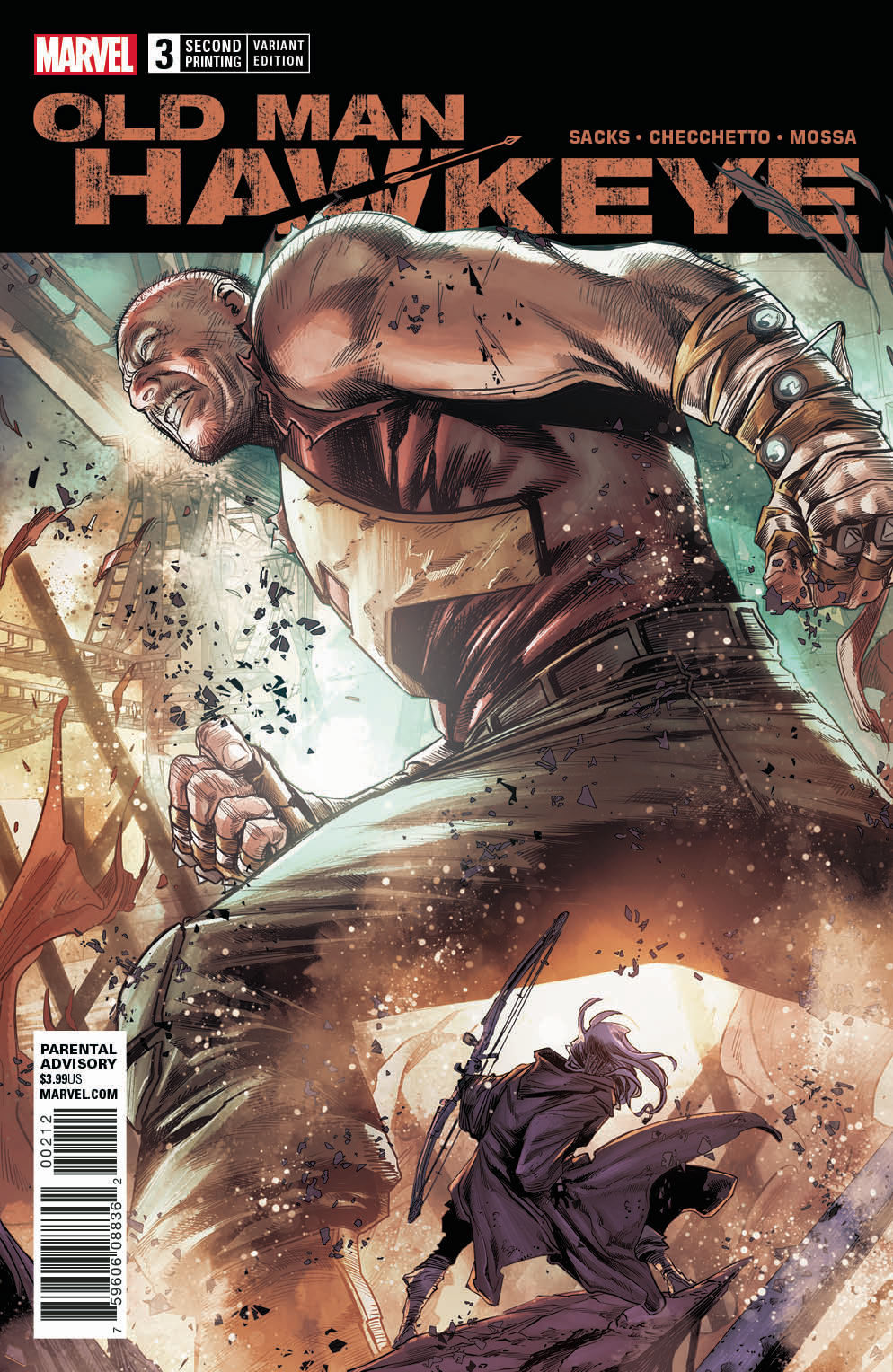 OLD MAN HAWKEYE #3 (OF 12) 2ND PTG CHECCHETTO VAR LEG