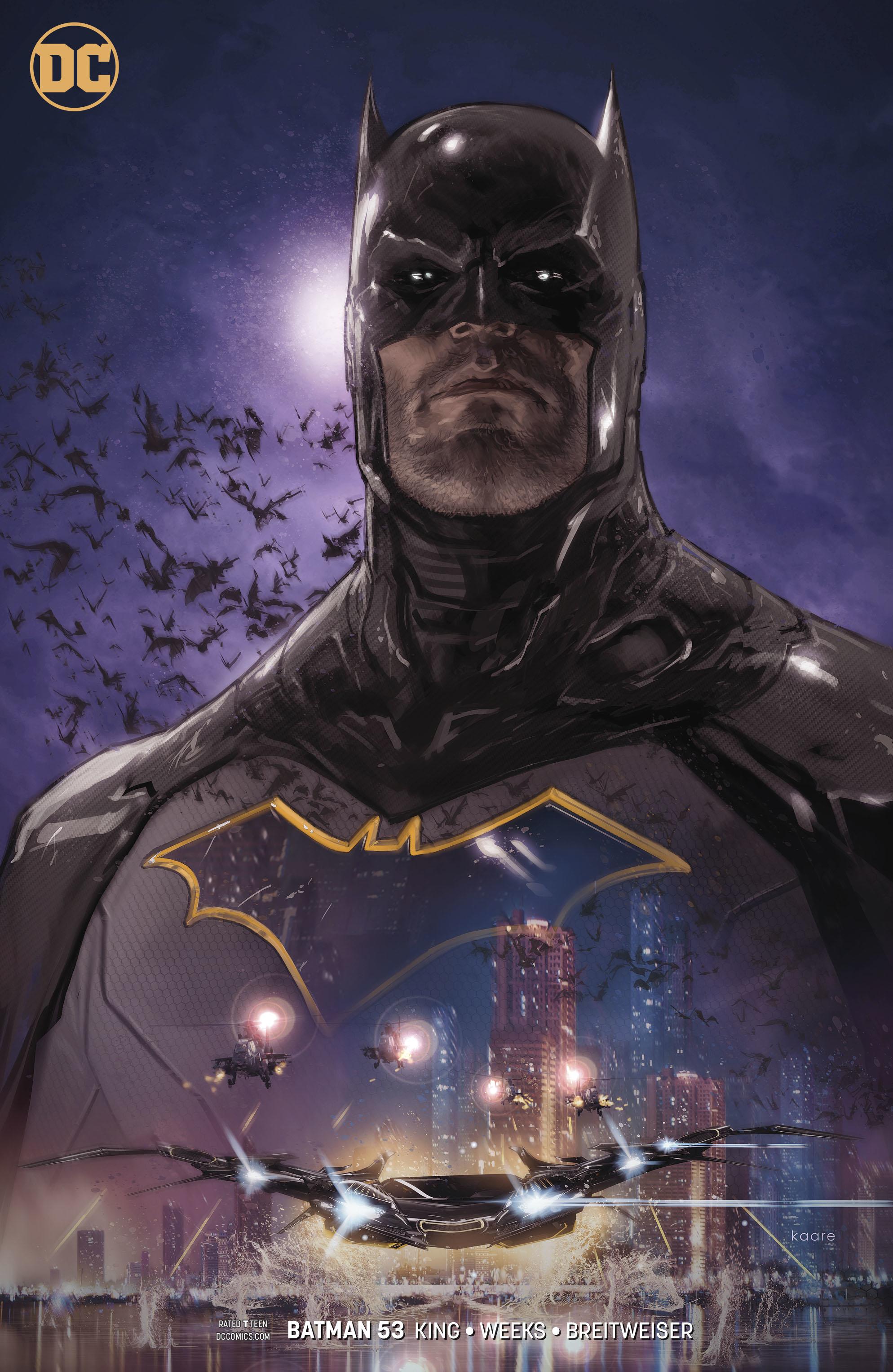 BATMAN #53 VAR ED