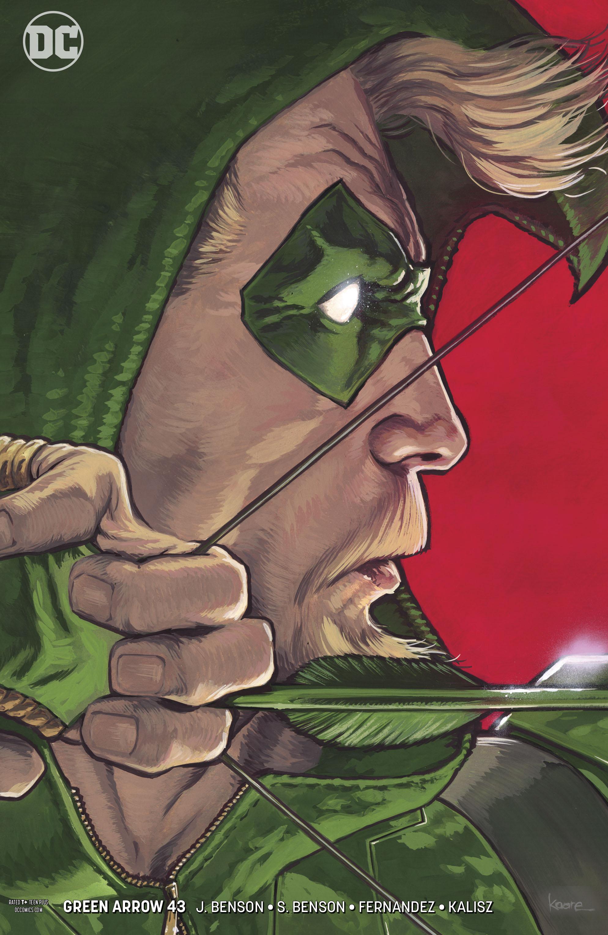 GREEN ARROW #43 VAR ED