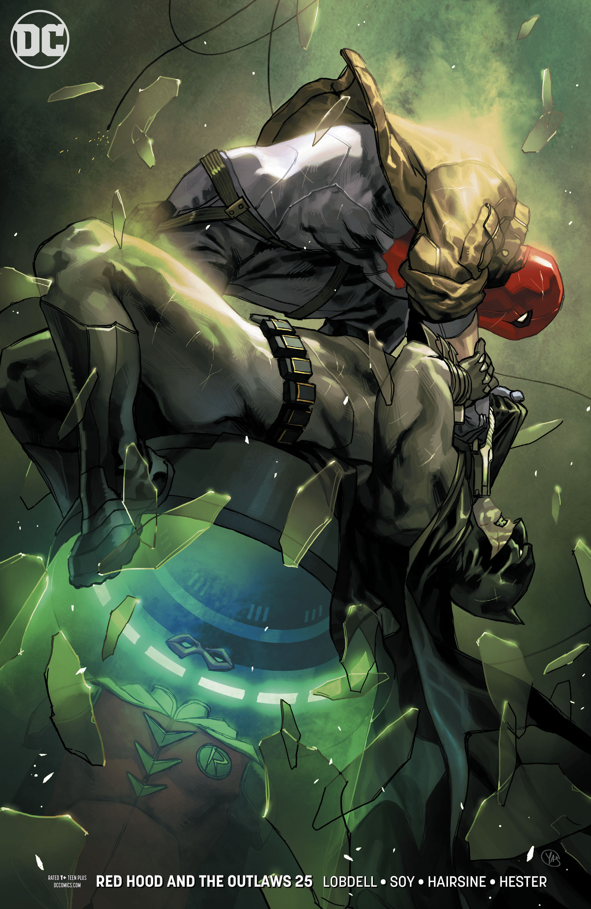 RED HOOD AND THE OUTLAWS #25 VAR ED