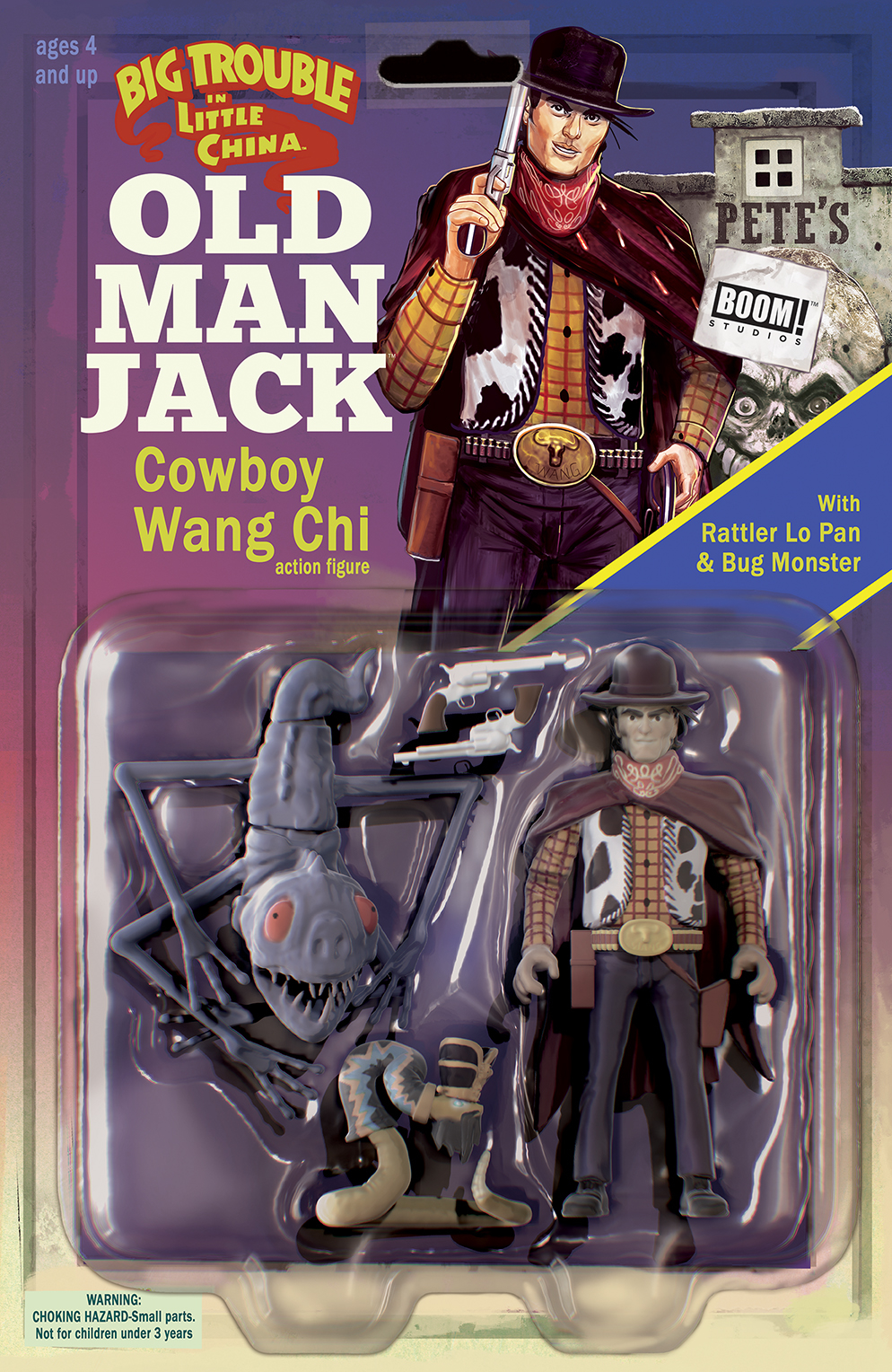 BIG TROUBLE IN LITTLE CHINA OLD MAN JACK #12 SUBSCRIPTION AC