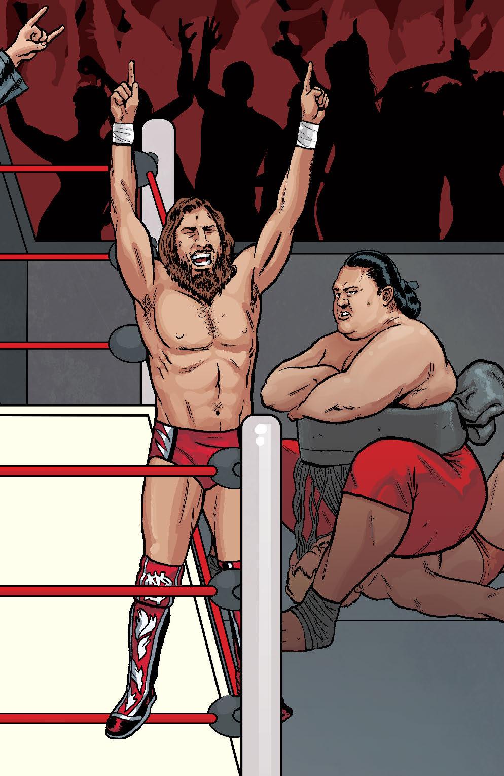 WWE #20 SCHOONOVER RAW CONNECTING VAR