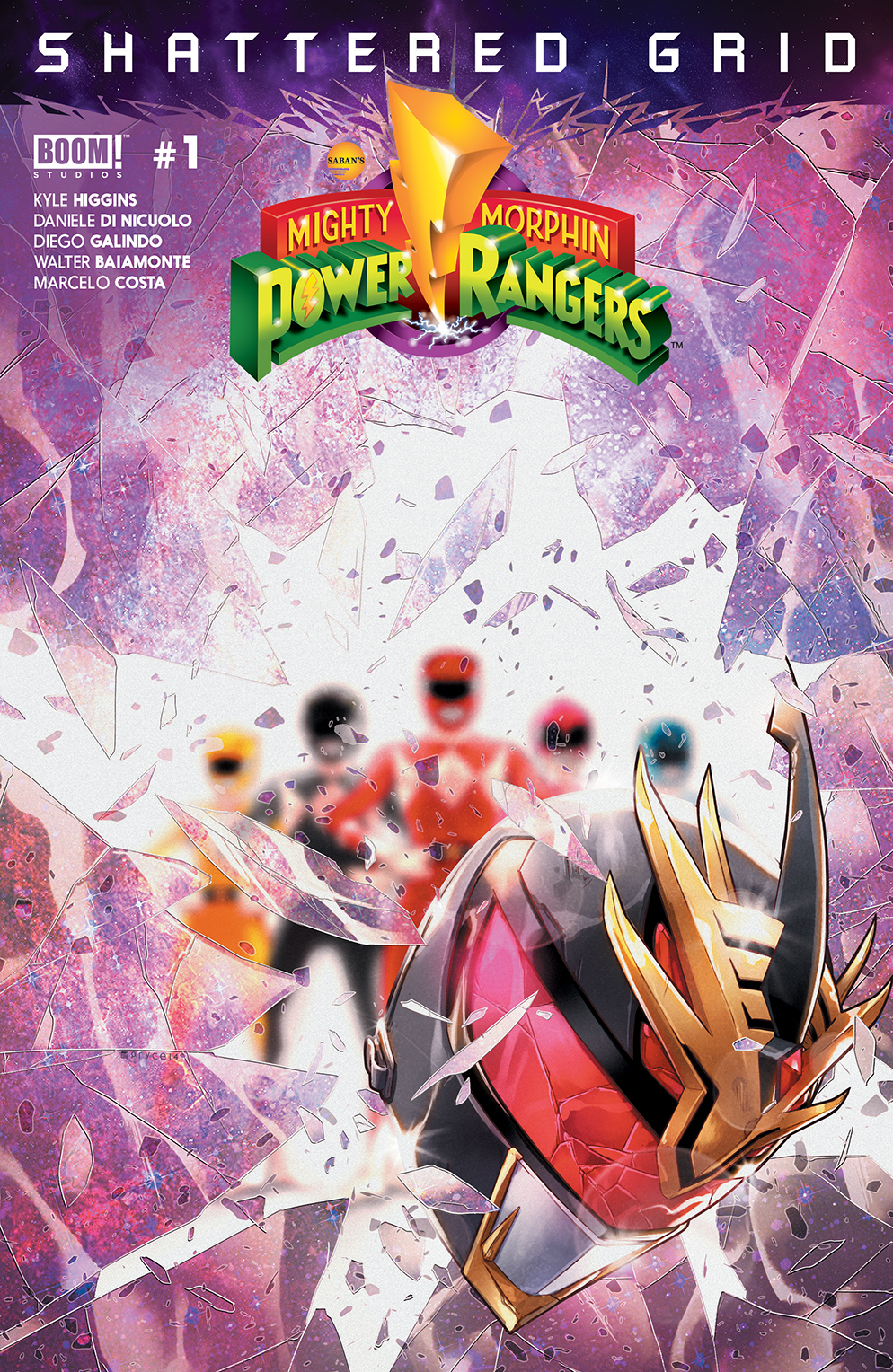MMPR SHATTERED GRID #1 MAIN