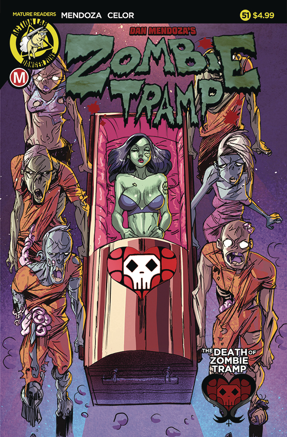 ZOMBIE TRAMP ONGOING #51 CVR A CELOR