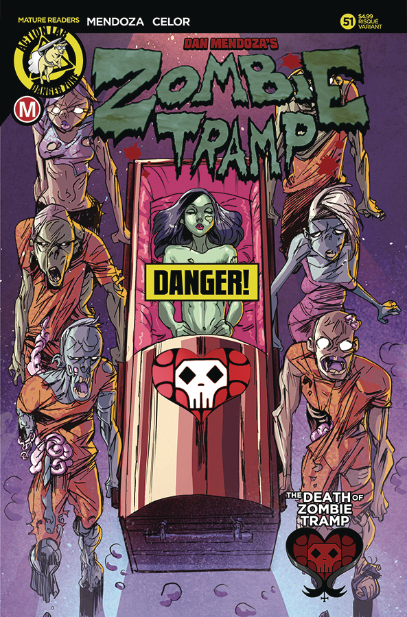 ZOMBIE TRAMP ONGOING #51 CVR B CELOR RISQUE