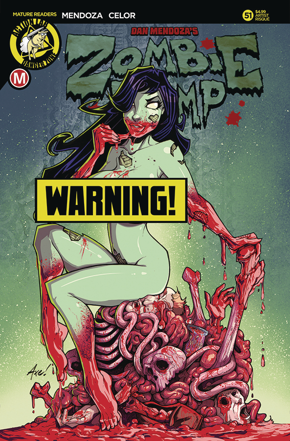 ZOMBIE TRAMP ONGOING #51 CVR D AXEBONE RISQUE