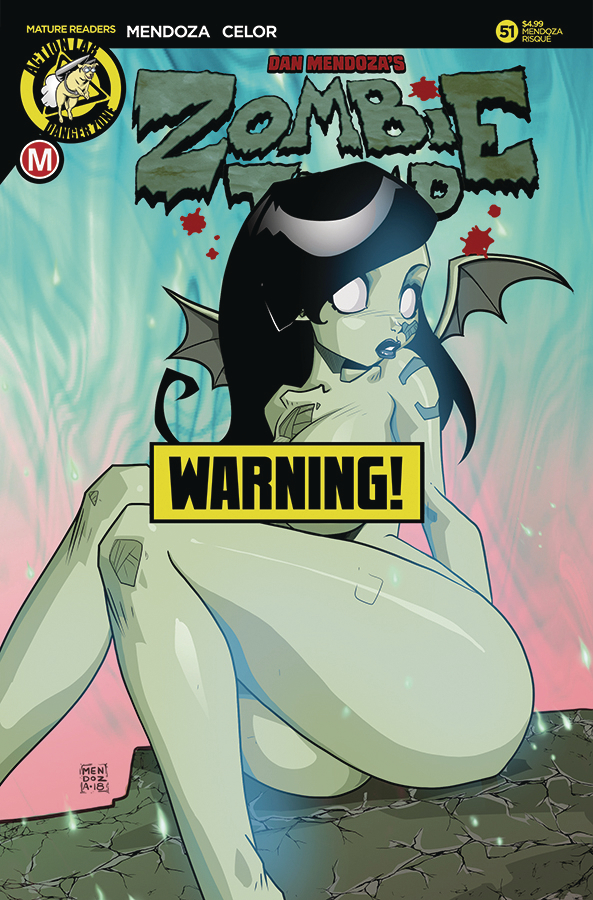 ZOMBIE TRAMP ONGOING #51 CVR F MENDOZA RISQUE