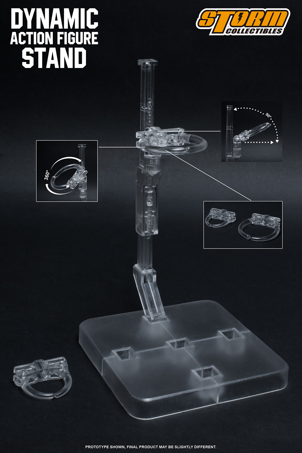DYNAMIC ACTION ADJUSTABLE FIGURE STAND