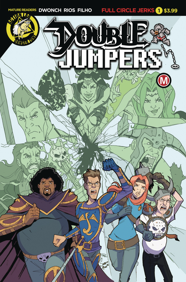 DOUBLE JUMPERS FULL CIRCLE JERKS #1 (OF 4) CVR A RIOS