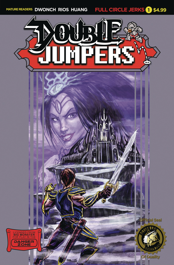 DOUBLE JUMPERS FULL CIRCLE JERKS #1 (OF 4) CVR B LOGAN