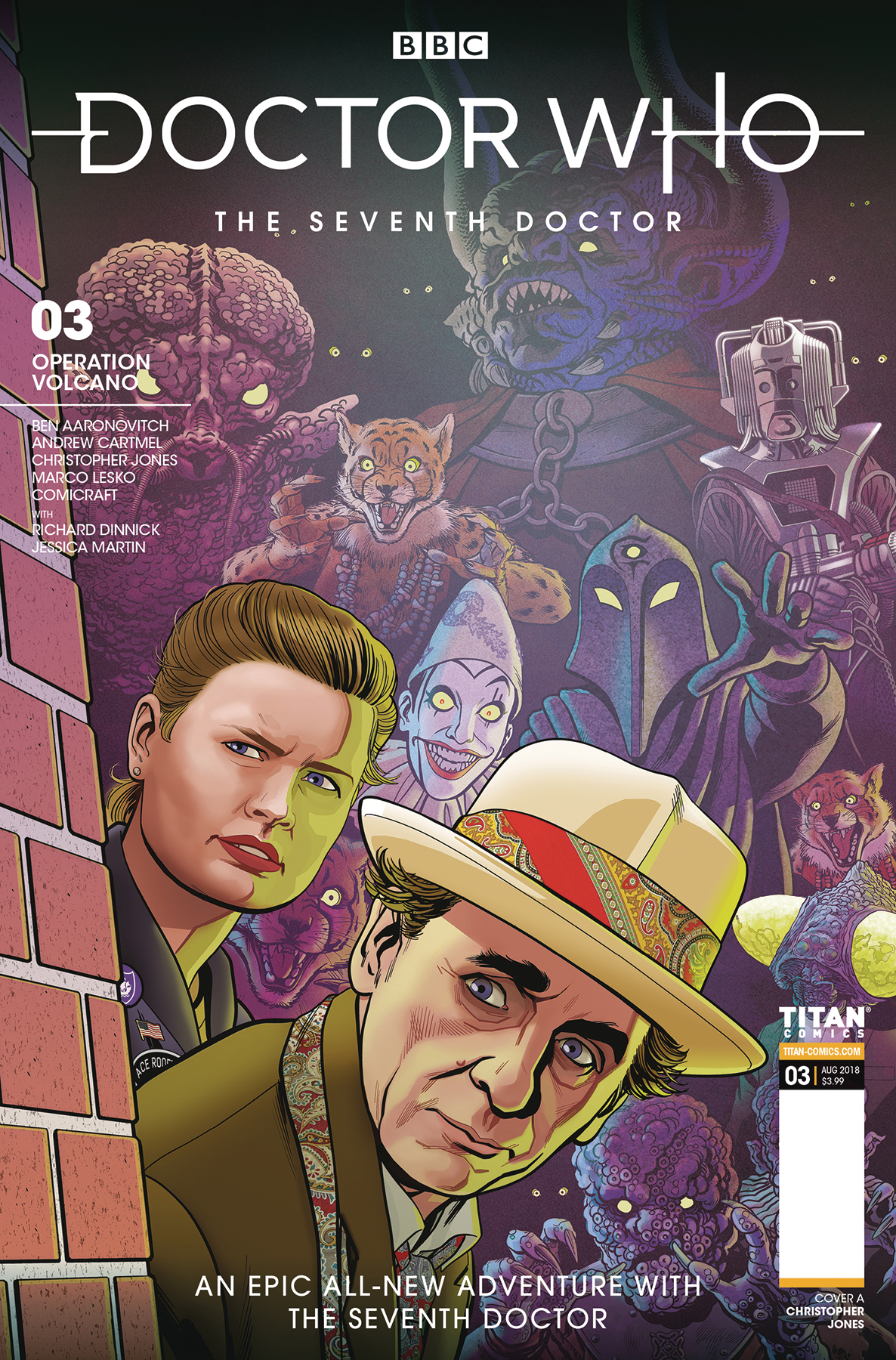 DOCTOR WHO 7TH #3