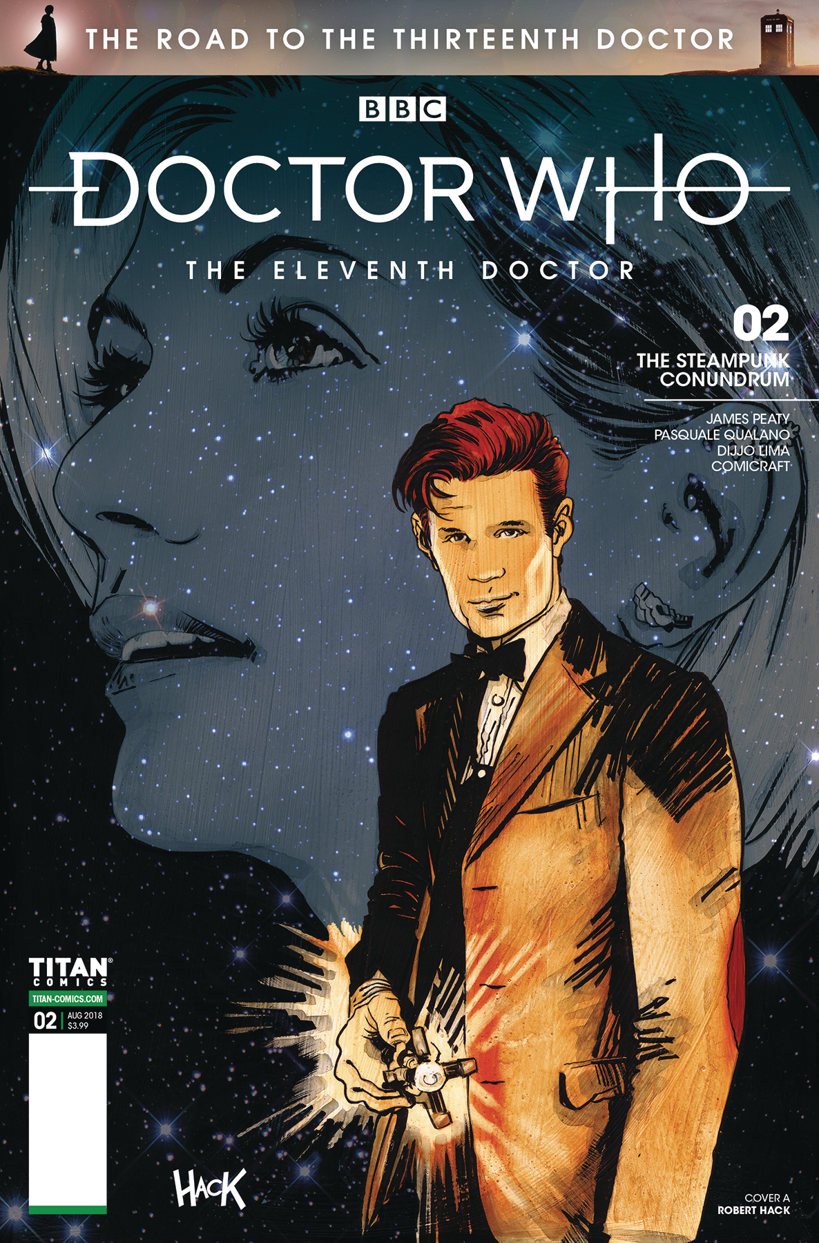 DOCTOR WHO ROAD TO 13TH DR #2 11TH CVR A HACK