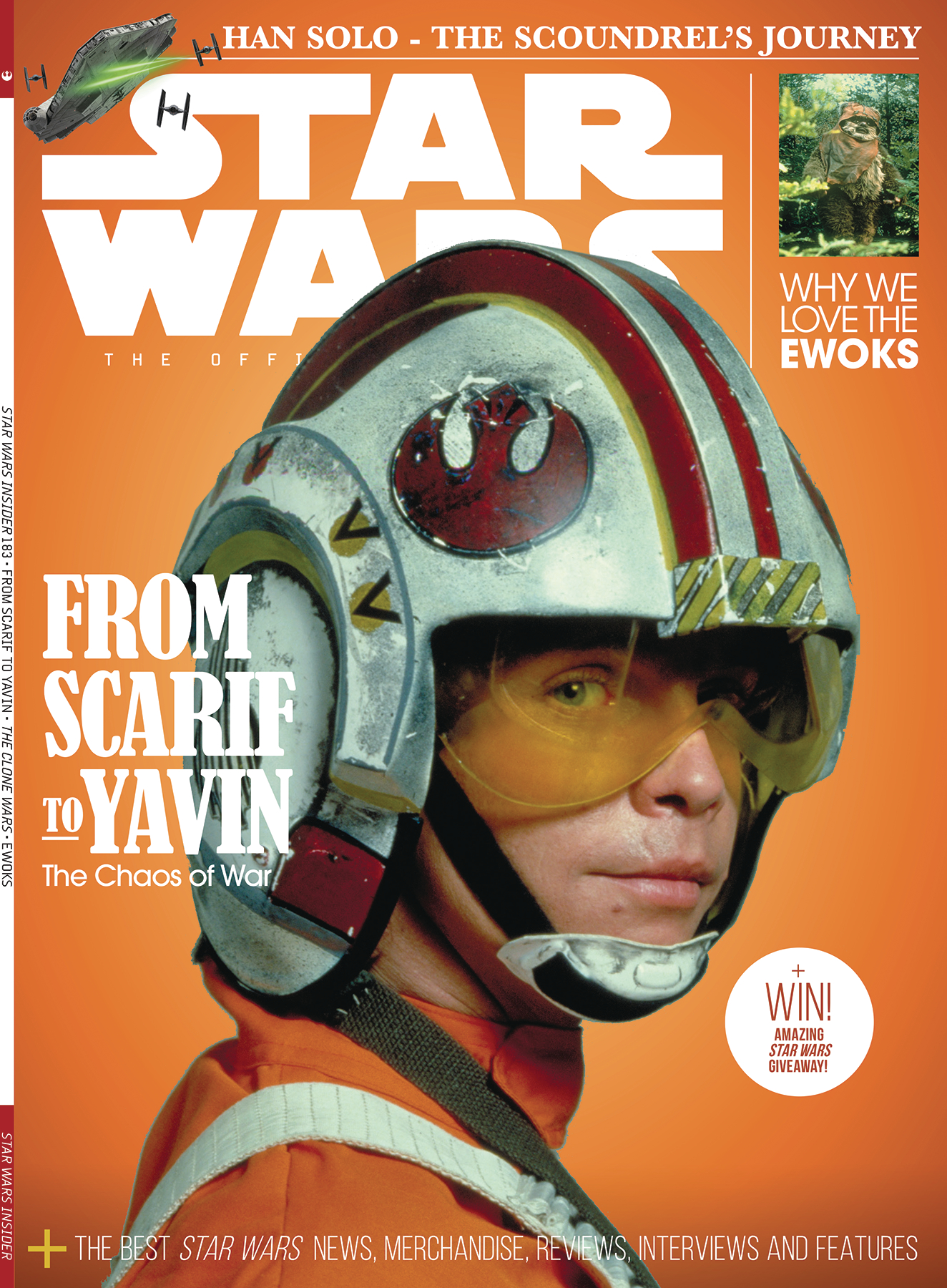 STAR WARS INSIDER #183 NEWSSTAND ED