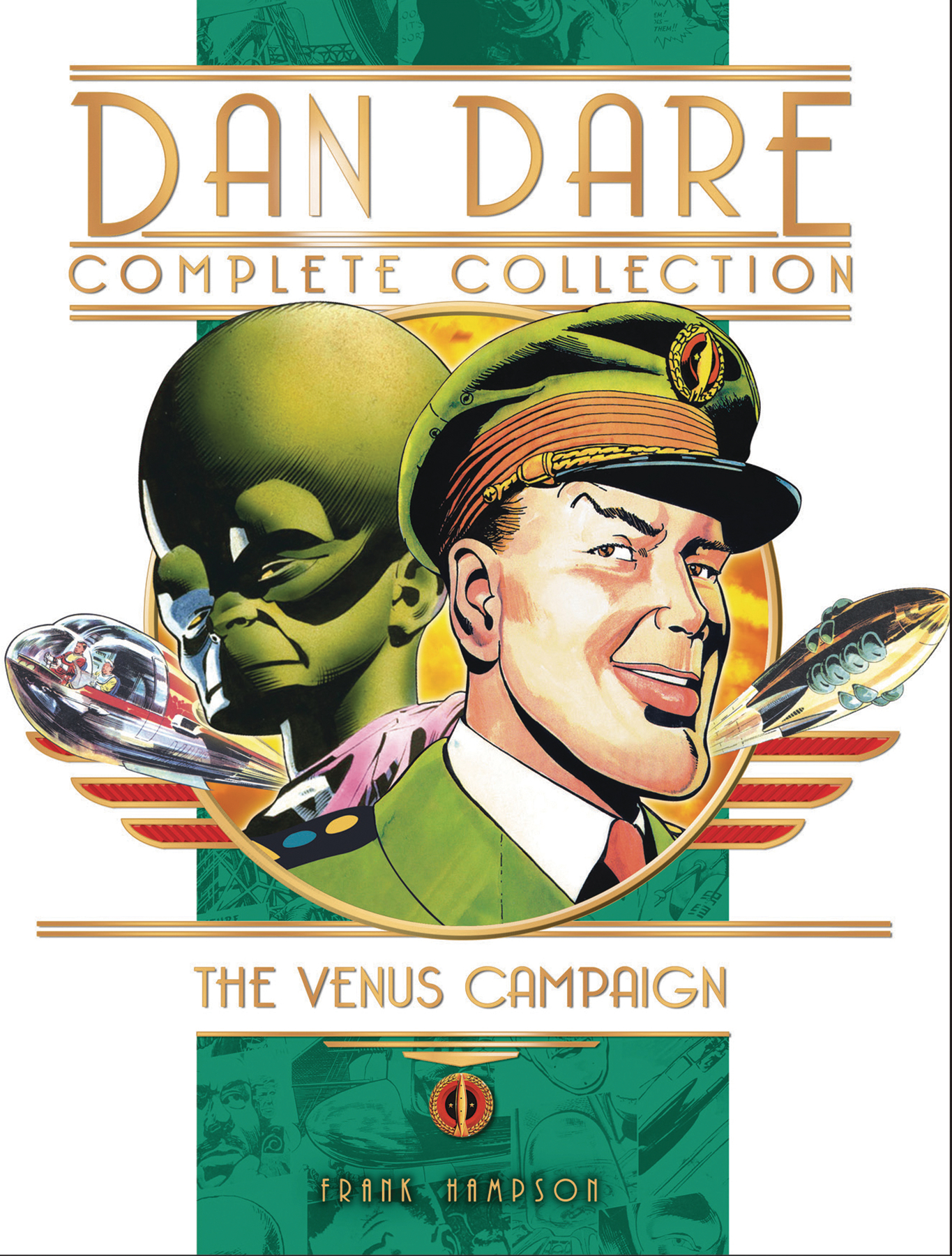 DAN DARE COMPLETE COLLECTION HC VOL 01 VENUS CAMPAIGN