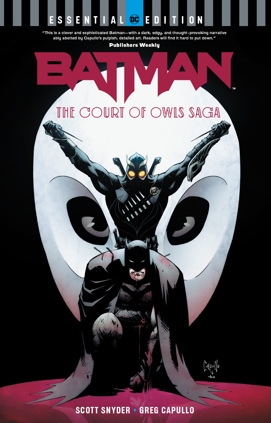 BATMAN THE COURT OF OWLS SAGA ESSENTIAL EDITION TP