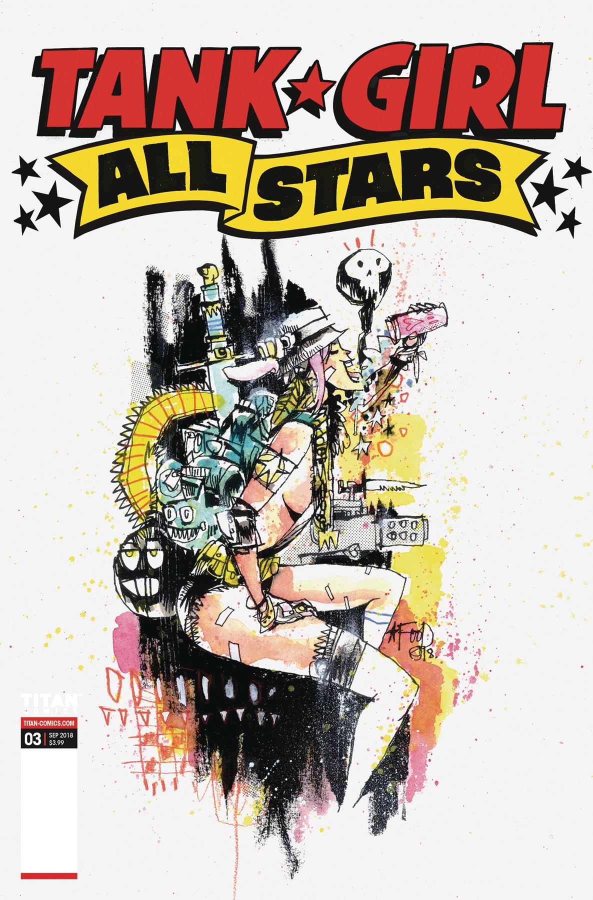 TANK GIRL ALL STARS #3