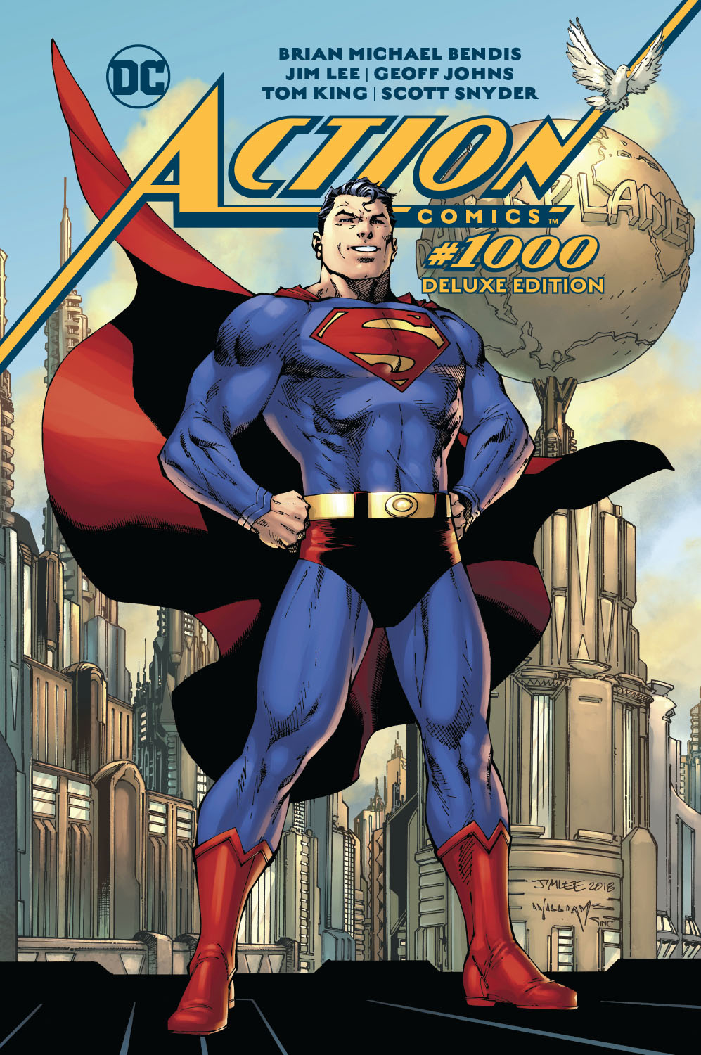 ACTION COMICS #1000 THE DELUXE EDITION HC