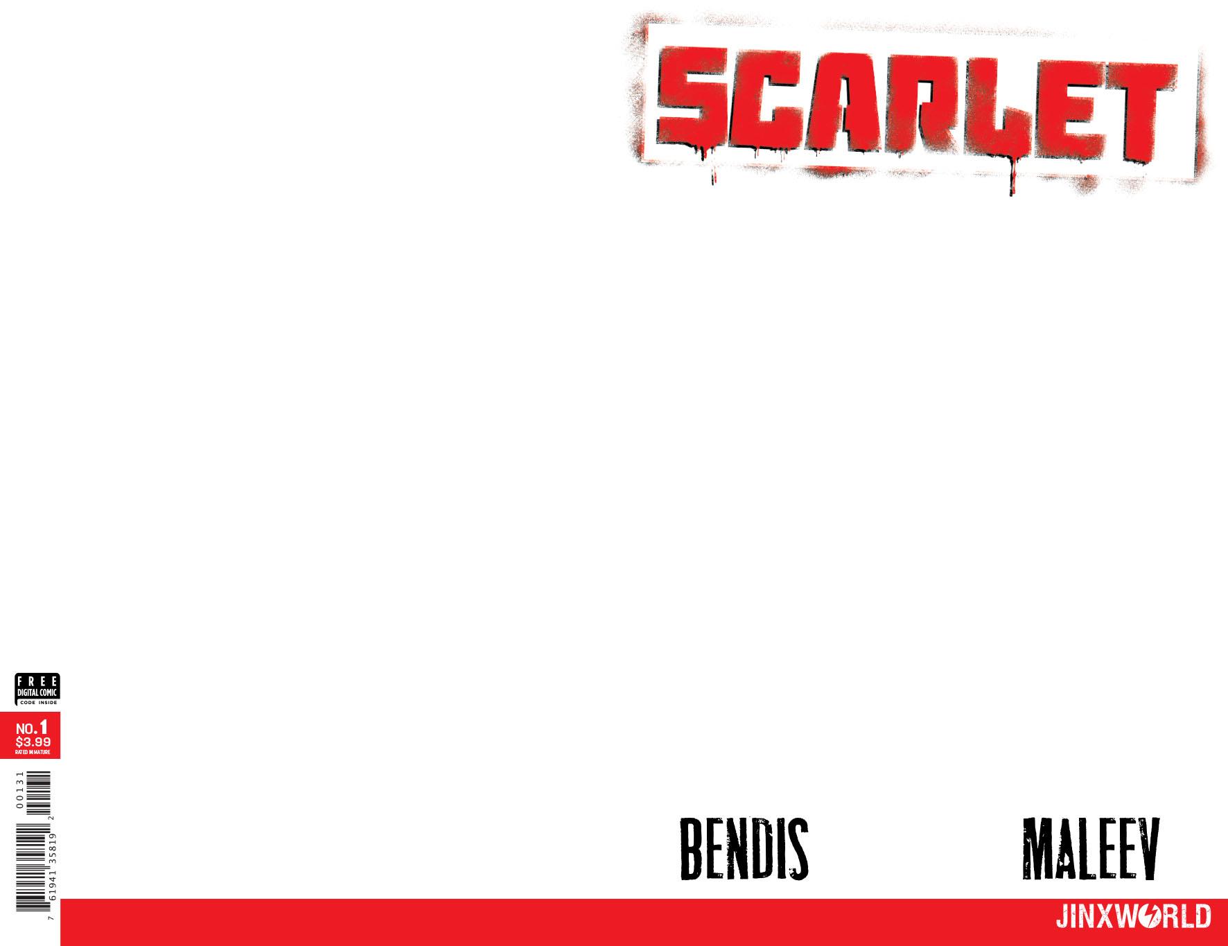 SCARLET #1 (OF 5) BLANK VAR ED