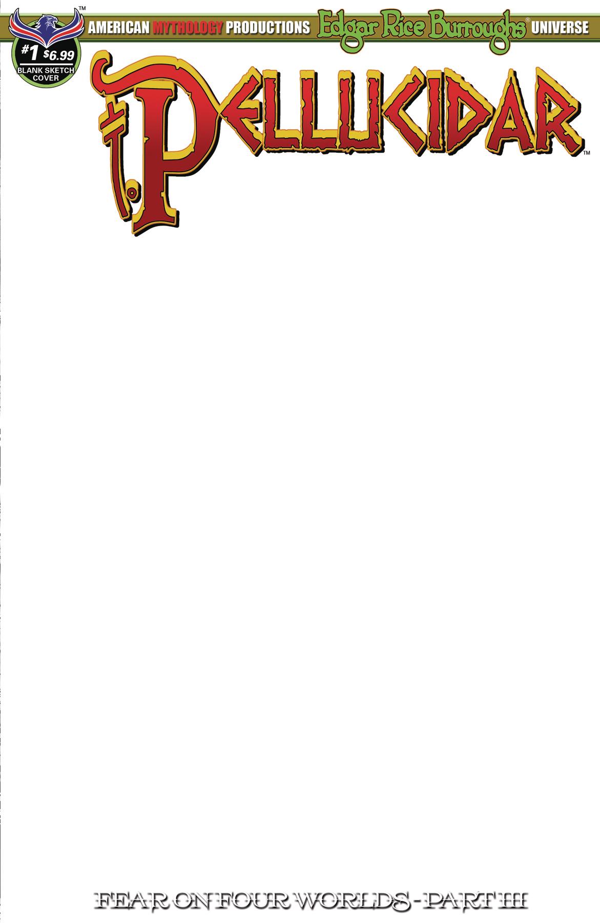 PELLUCIDAR #1 BLANK SKETCH ED CVR