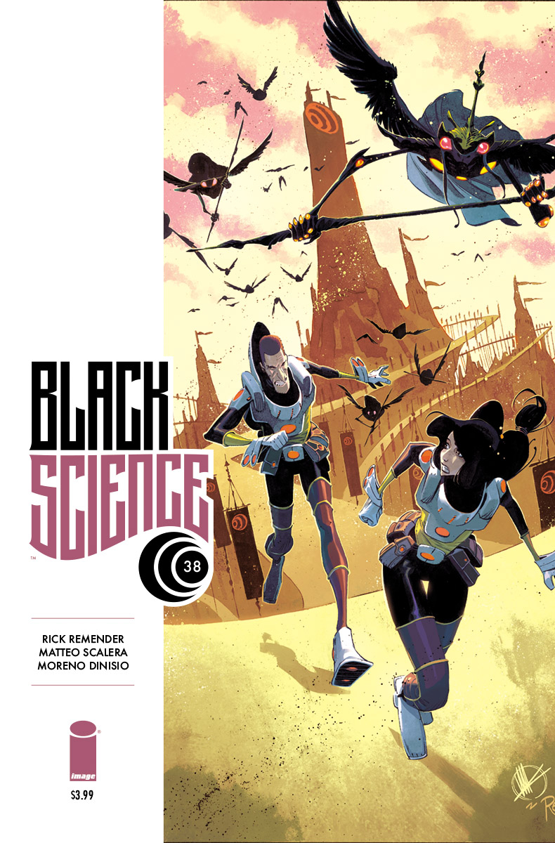 BLACK SCIENCE #38 CVR A SCALERA & DINISIO