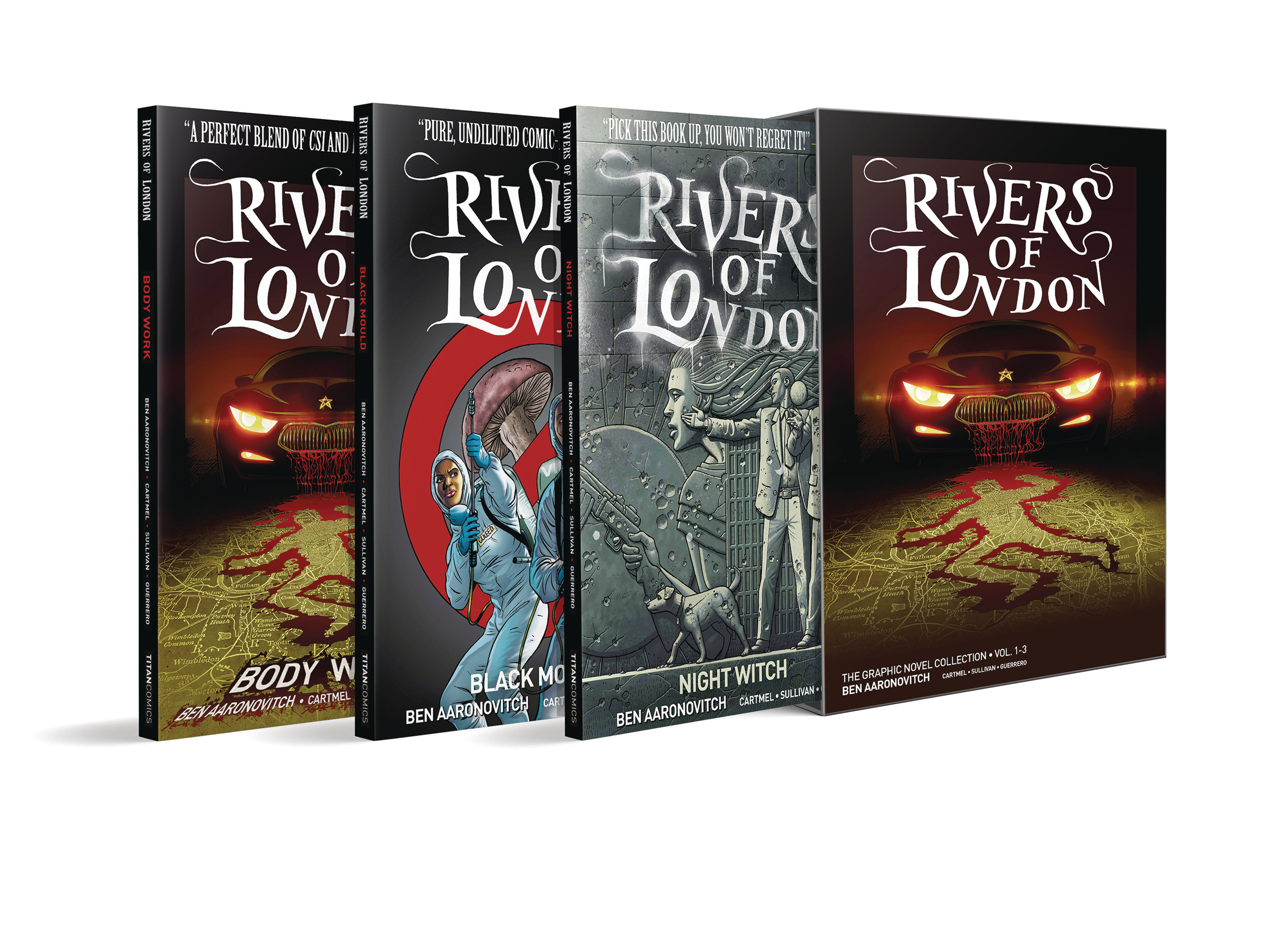RIVERS OF LONDON BOX SET ED