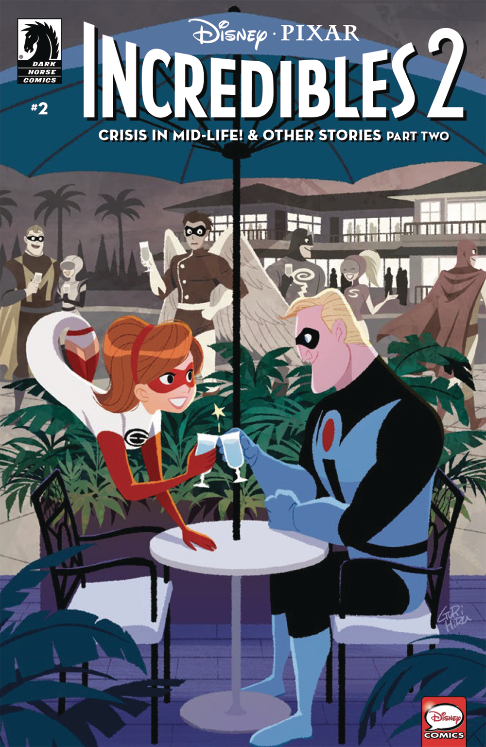 DISNEY PIXAR INCREDIBLES 2 #2 CRISIS MIDLIFE & OTHER STORIES