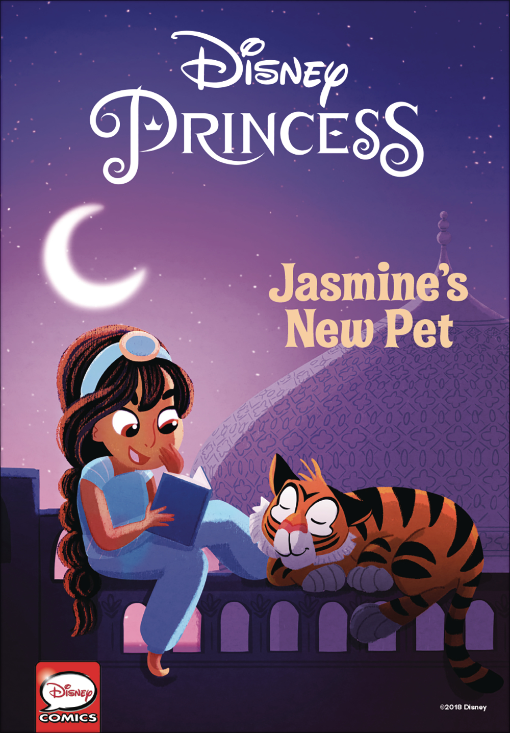 DISNEY PRINCESS JASMINES NEW PET HC (O/A)