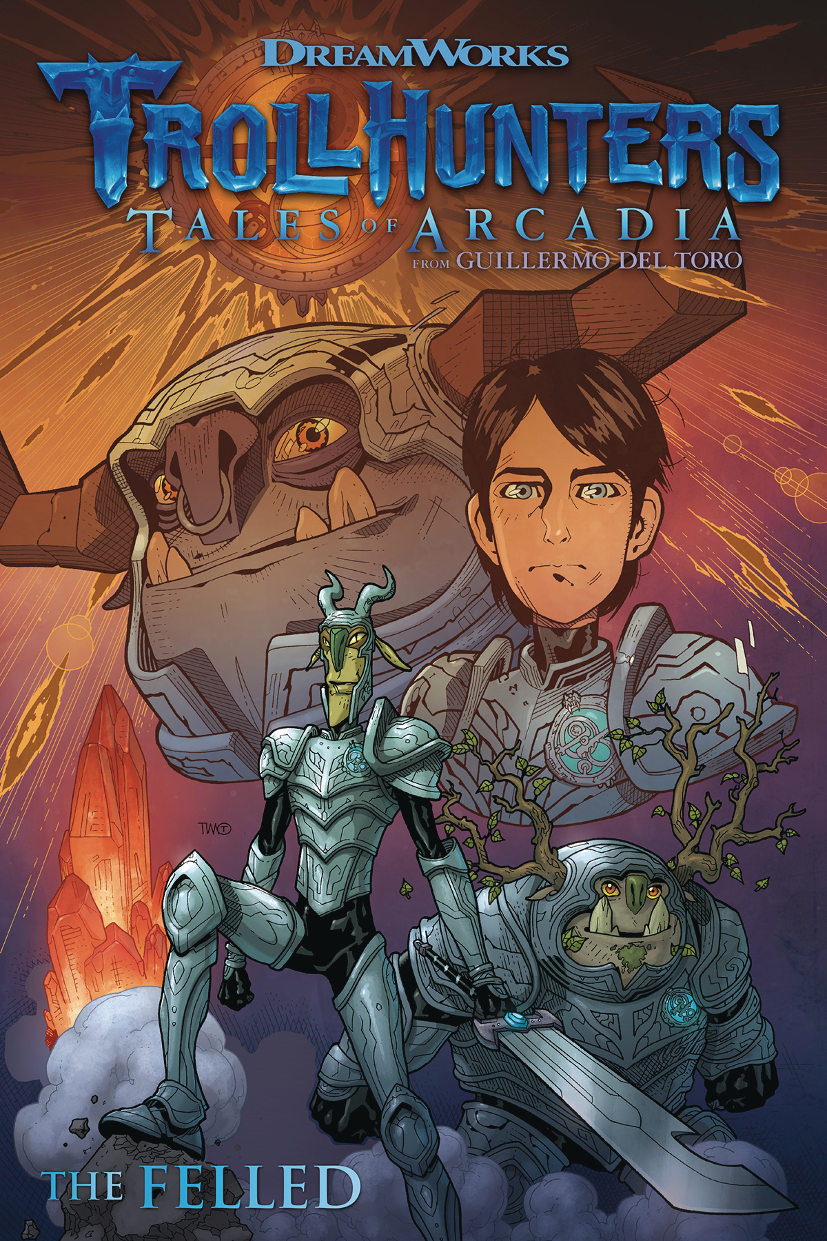 TROLLHUNTERS TALES OF ARCADIA THE FELLED TP (JUN180308)