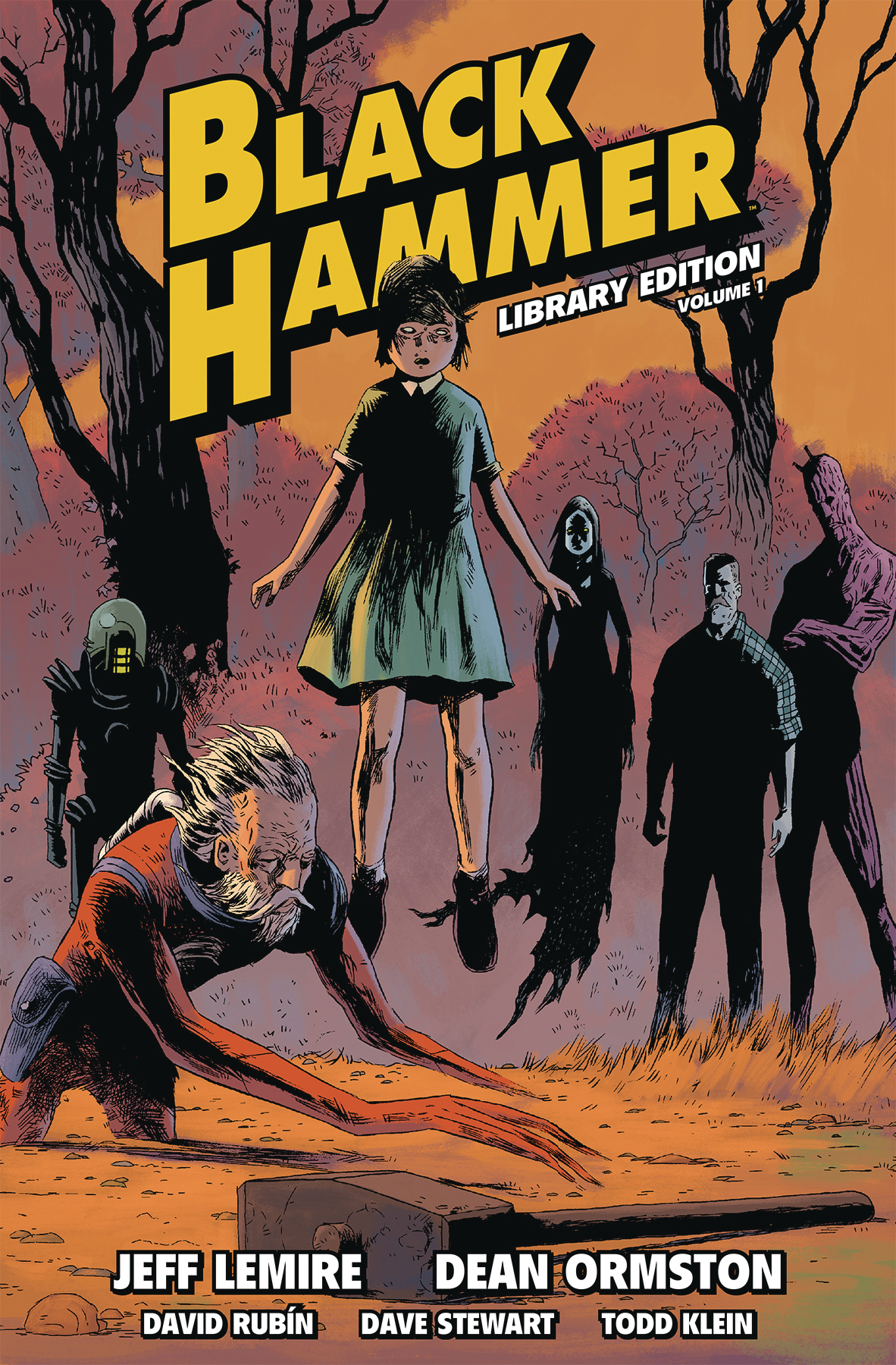 BLACK HAMMER LIBRARY ED HC VOL 01 (JUN180320)