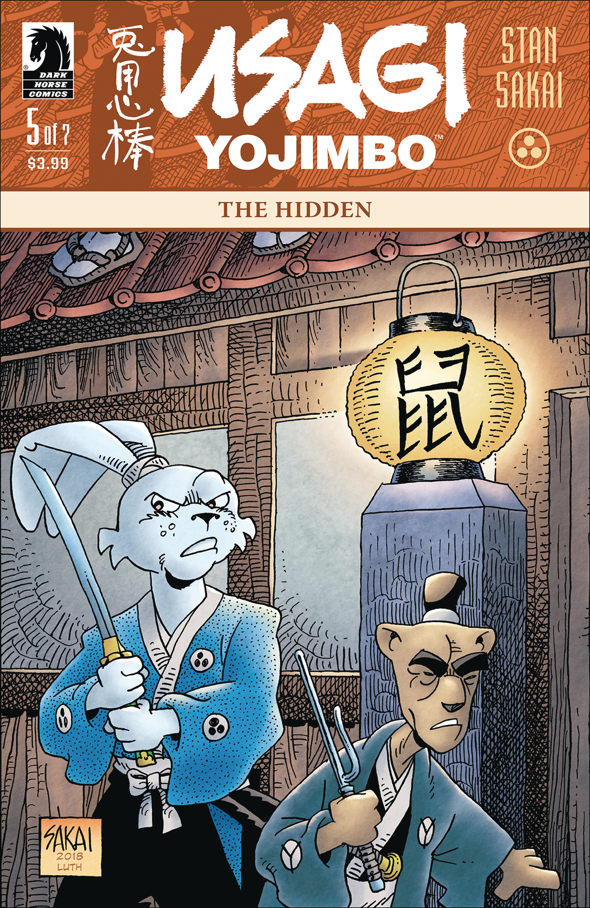 USAGI YOJIMBO #5 (OF 7) THE HIDDEN