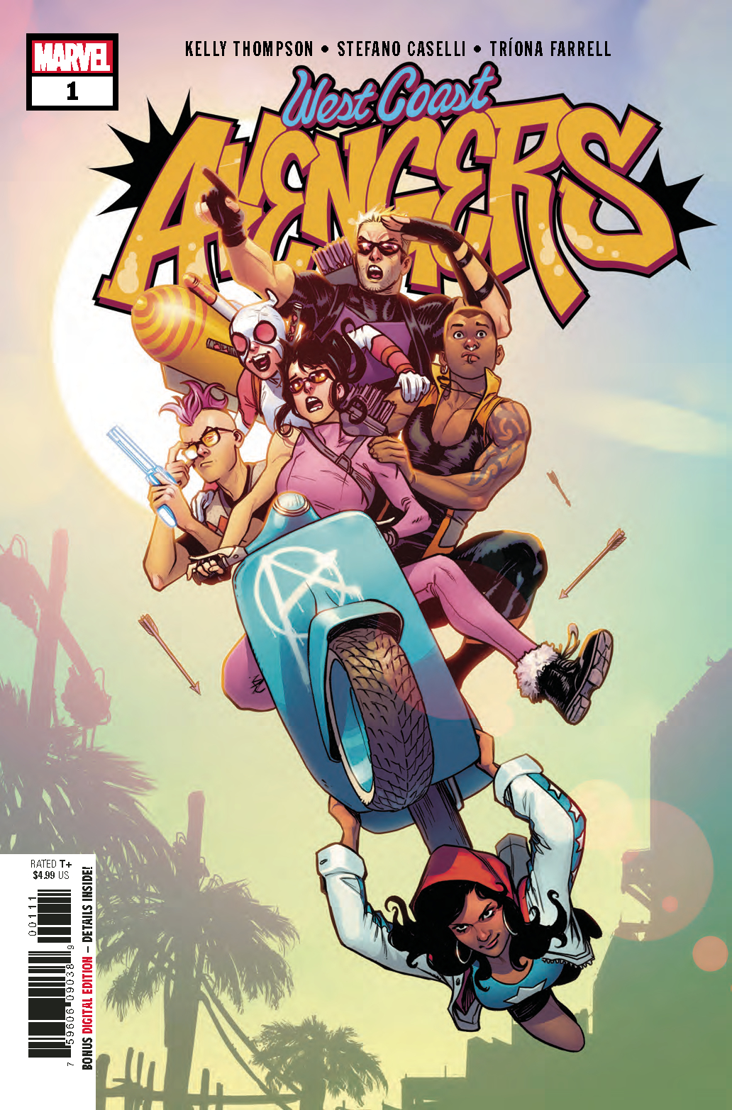 Image result for west coast avengers #1 cover