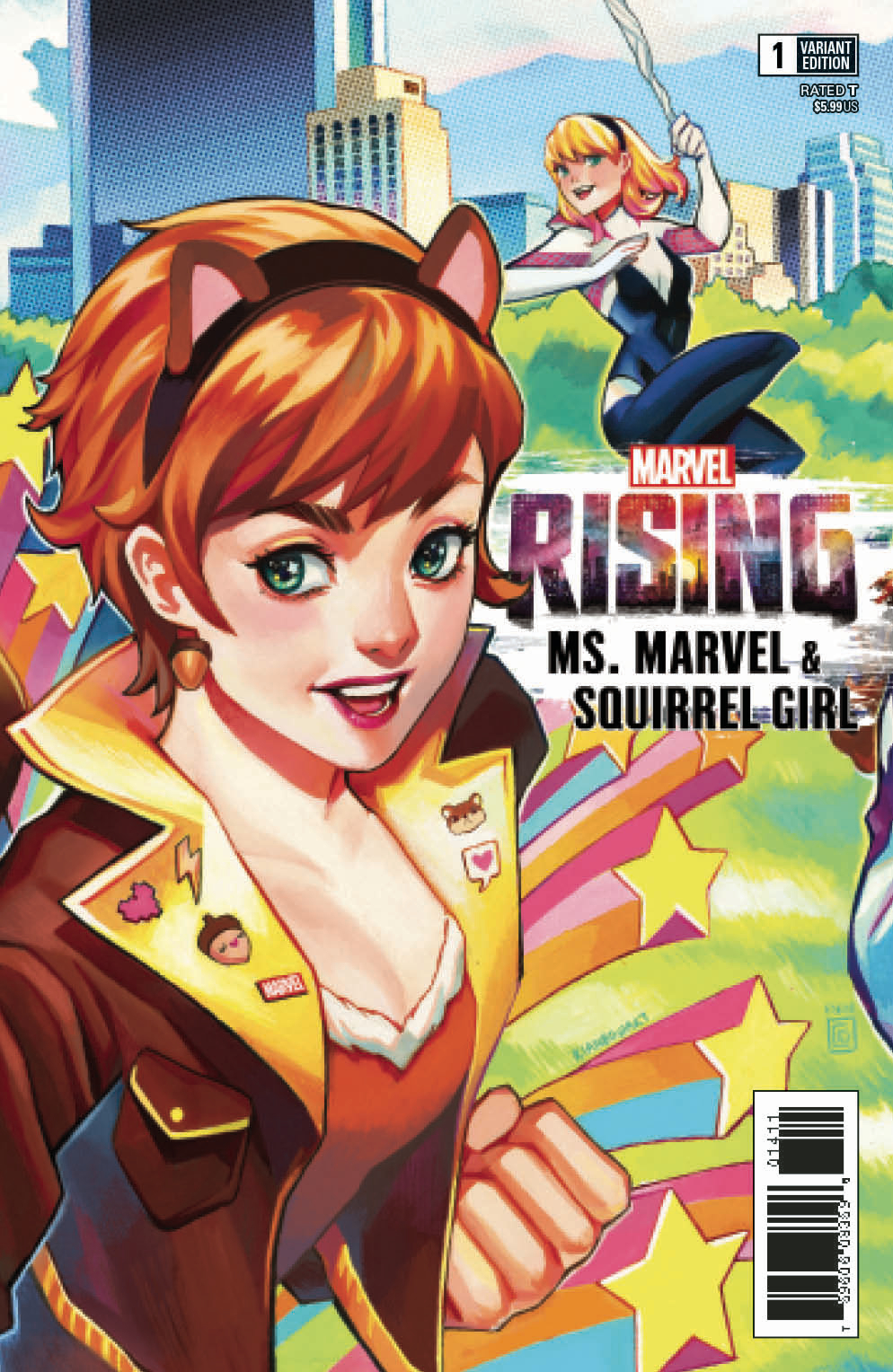 MARVEL RISING MS MARVEL SQUIRREL GIRL #1 CONNECTING VAR