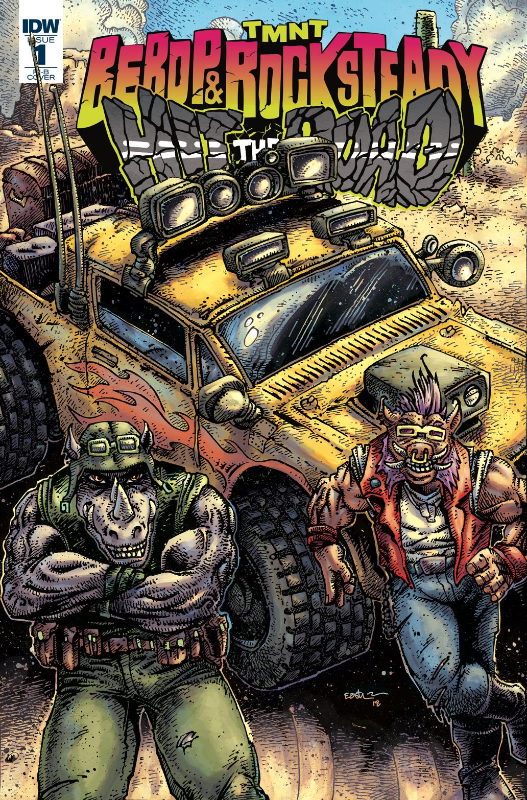 TMNT BEBOP ROCKSTEADY HIT THE ROAD #1