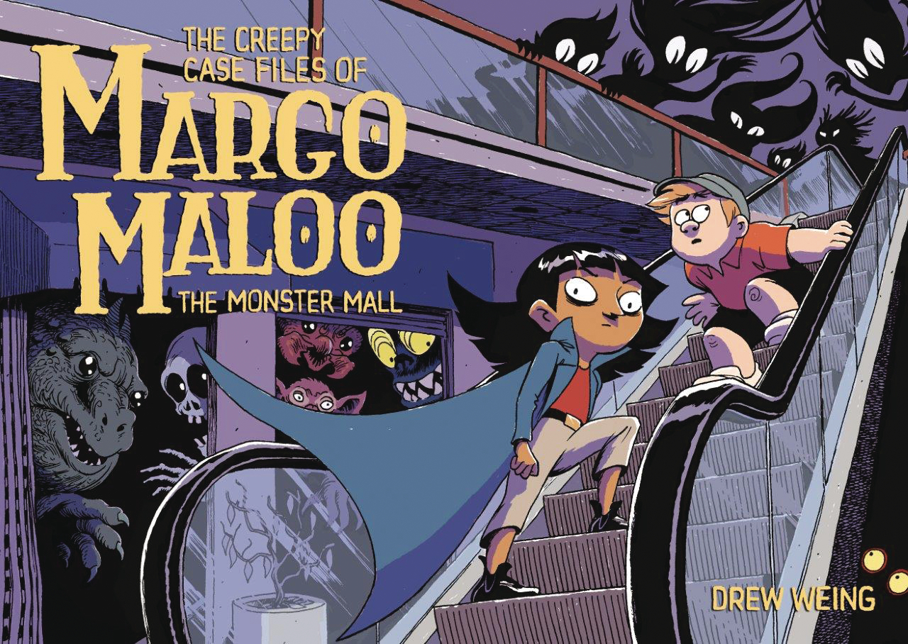 CREEPY CASE FILES MARGO MALOO HC GN VOL 02 MONSTER MALL