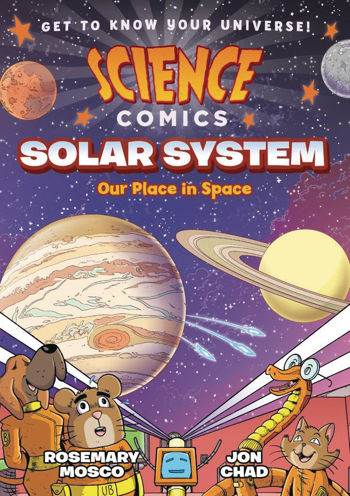 SCIENCE COMICS SOLAR SYSTEM SC GN