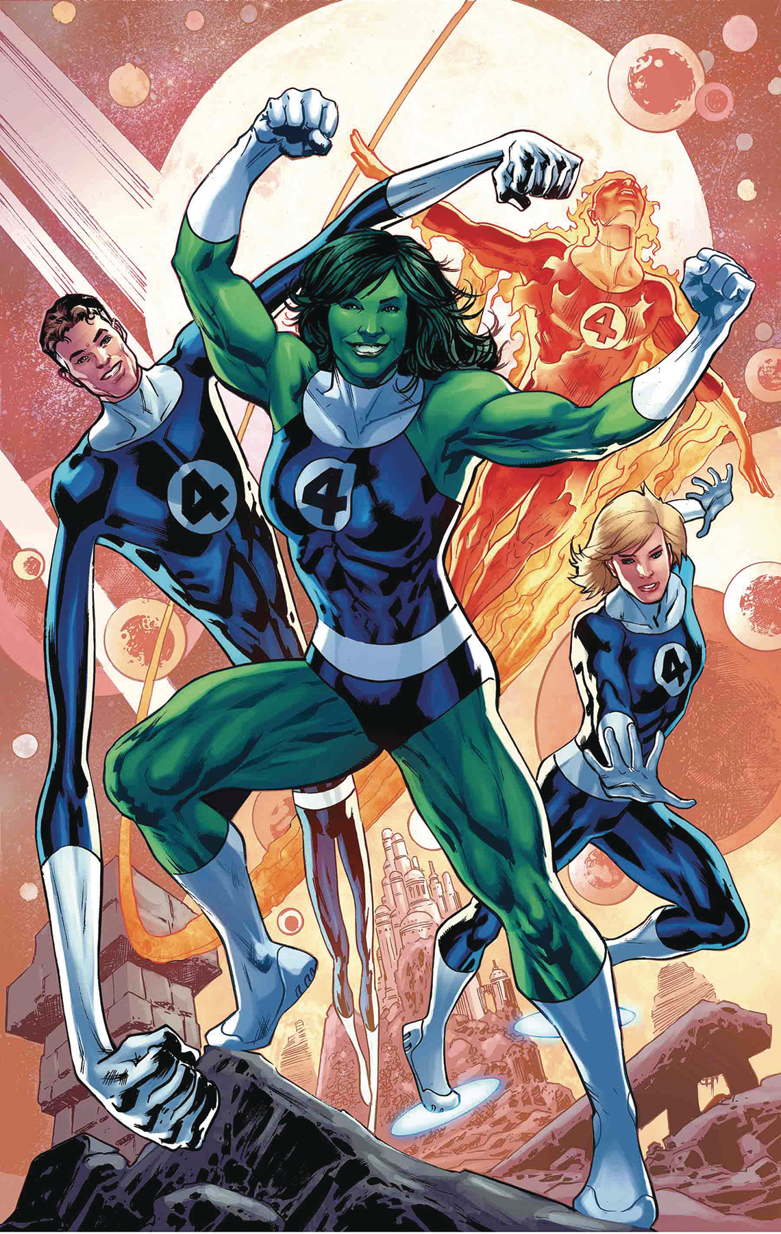 THOR #4 HITCH RETURN OF FANTASTIC FOUR VAR